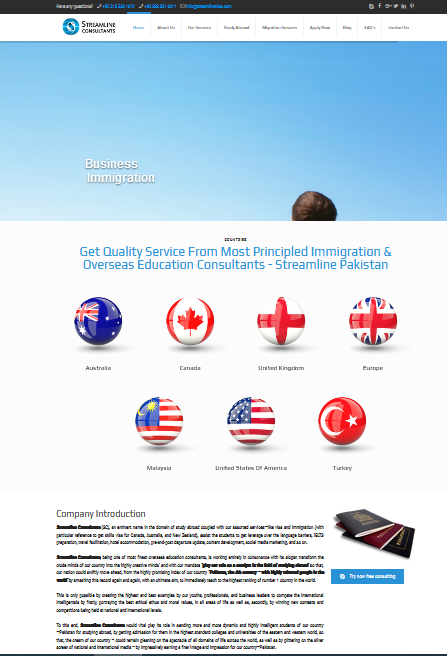 overseas education website